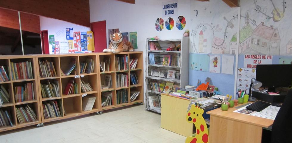 Bibliothèque école charles de foucauld
